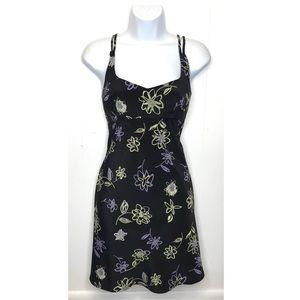 Vintage Rampage | 90's Mini Dress Floral Print